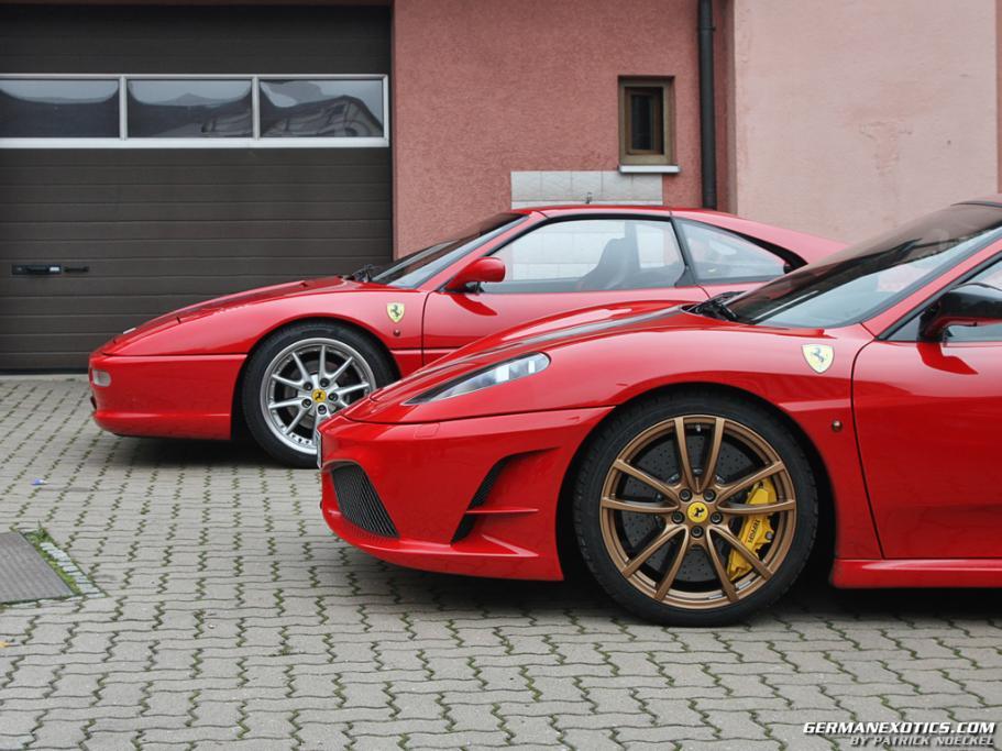 Ferrari F355 und Scuderia