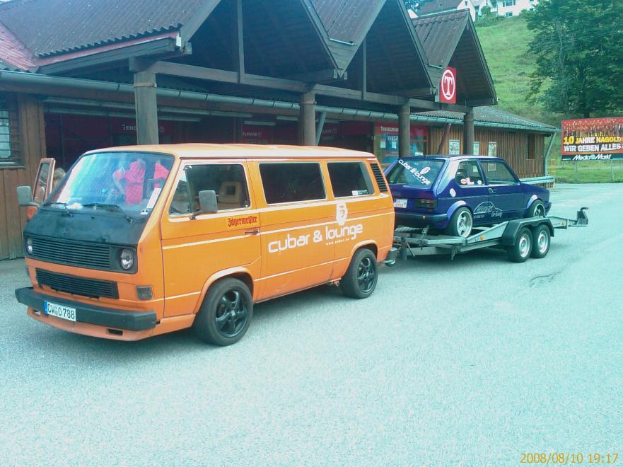 VW Bus T3 turbo Umbau mit Golf 1 G60