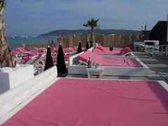 OCOA Beach - also so schön pink hier.