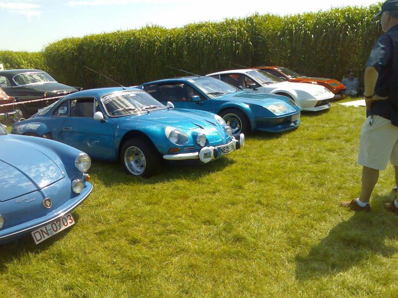 Renault Alpine Generationen