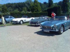 3 Autoträume (BMW 507, MB 300SL Roadster, Maserati 3500 GT Spyder)