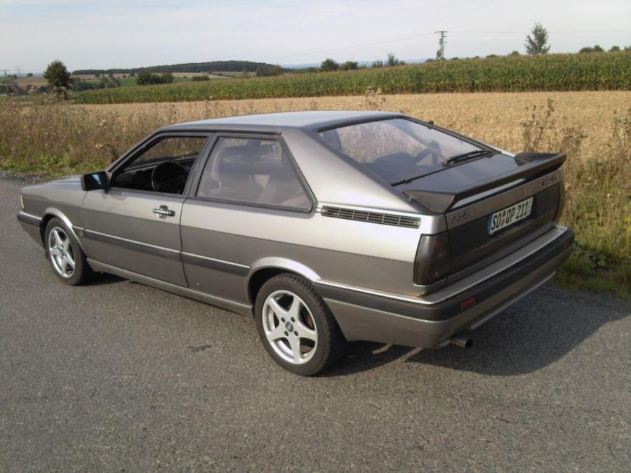 Mein 85er Audi Coupe 2,2 5 Zylinder