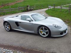 Porsche Carrera GT Auch wieder hübsch und einsatzbereit