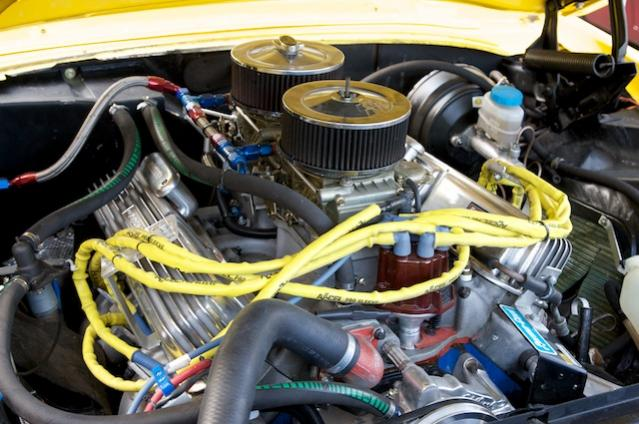 Klassische Ford 302 CUI Engine