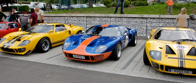 Die legitimen Nachfolger der Cobra-Ära - 3 Ford GT40!