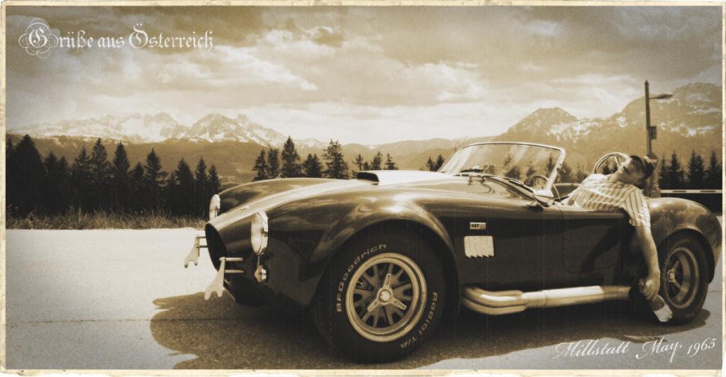 ... wandeln auf historischen Spuren!  Millstatt im Mai 1965 (oder so) !!