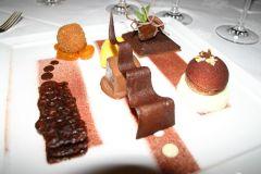 Chocolate at Les Trois Saisons Ein absoluter Genuss für den der in Schokolade baden könnte.