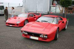 Ferrari F40 und 288 GTO (OGP 2008)