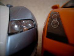 Gallardo und Veyron