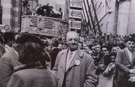 1954 bei der 1000 Miglia