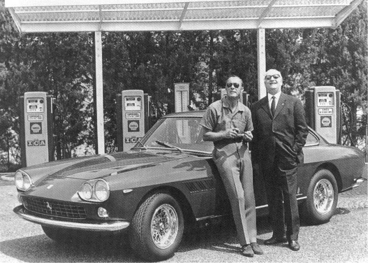 Enzo mit Prinz Bernard von Holland