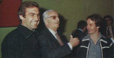 Zusammen mit Carlos Reutemann und Gilles