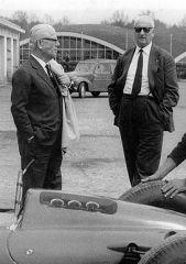 Enzo mit Battista Farina
