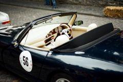 Ein TVR Chimaera von 1996 fuhr - da kein Oldtimer, aber bestimmt ein Klassiker der Zukunft - außer Konkurrenz mit.