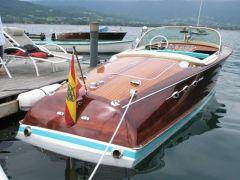 """Riva Ariston - BJ 1964 - Produktionsnummer 597 Lief damals mit """"nur"""" 220 PS schon gut 60 mph."""