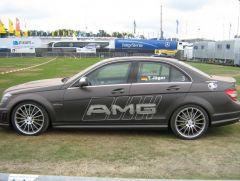 Der Mercedes C63 AMG!