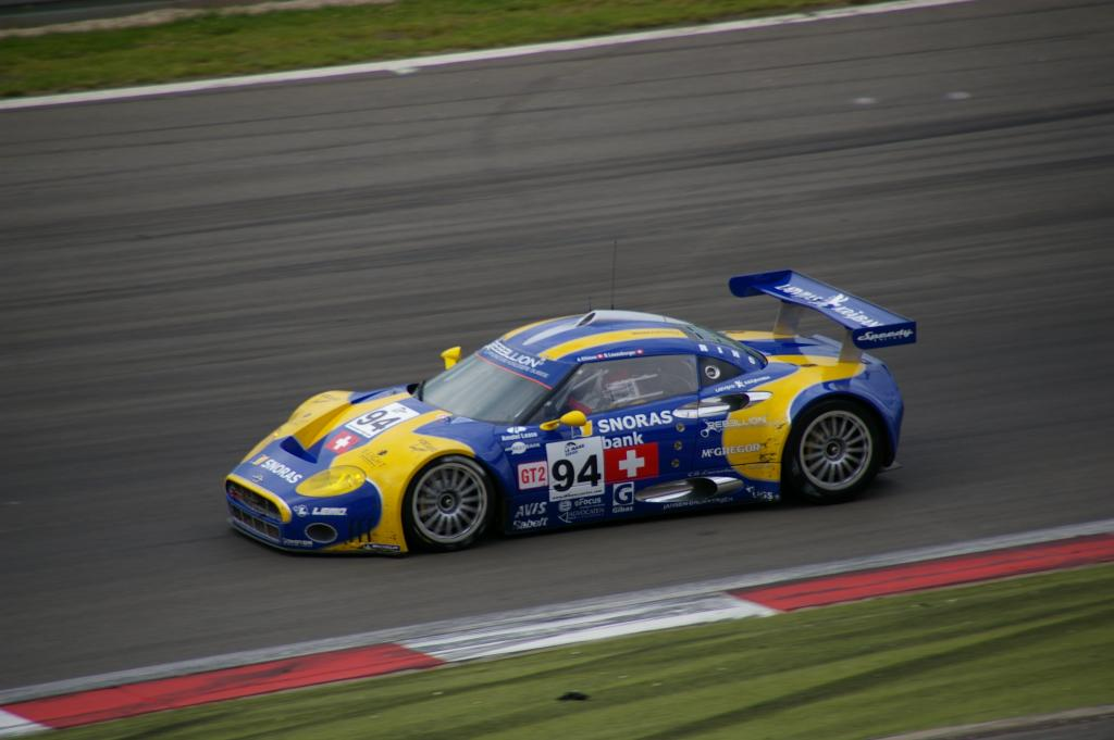 Spyker C8 - Speedy Racing Team -