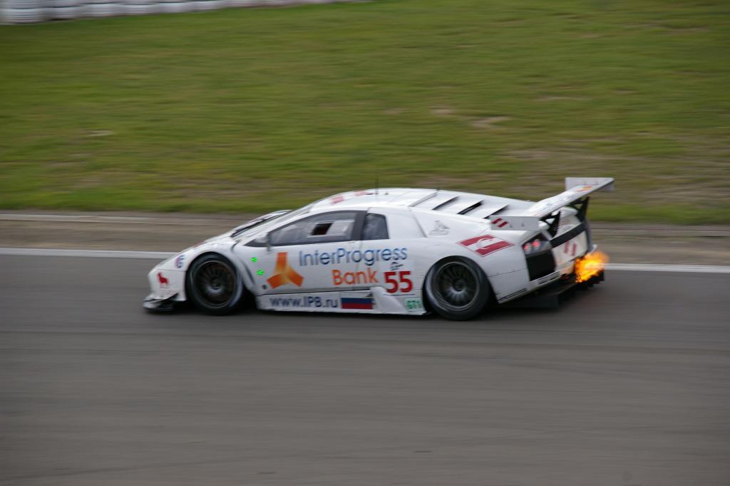 Lamborghini Murcielago R-GT - IPB Spartak Racing -