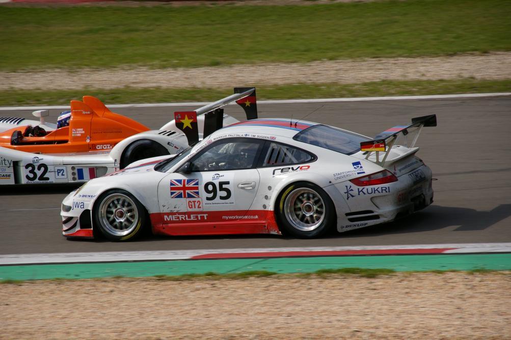 Porsche 911 GT3 RSR - James Watt Automotive -