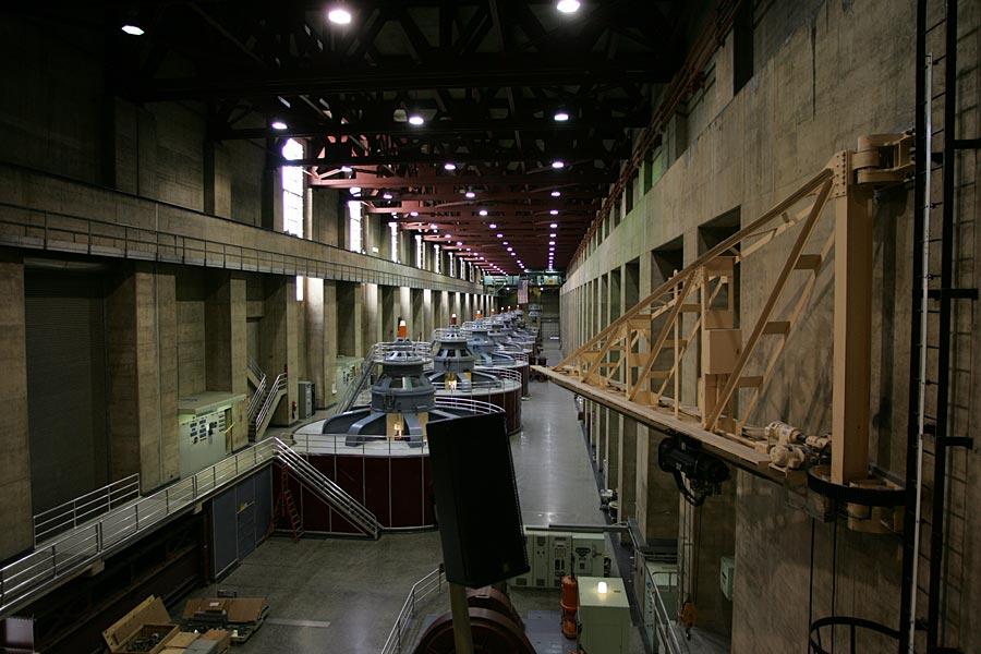 Hoover Dam Maschinenraum