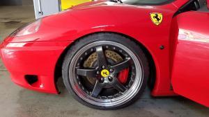 Hamann PG3 Felgen mit Michelin PSS für Ferrari 360
