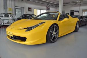 Ferrari 458 Spider LED*Novitec*Capristo*Lift* Racingsitze