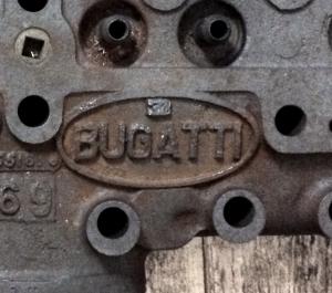 Bugatti Zylinderkopf 4-Zylinder