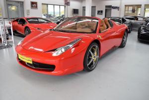 Ferrari 458 Spider LED Racingsitze 24M. Ferrari Garantie