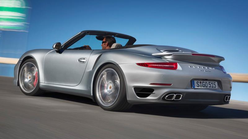 Porsche 991 Turbo Cabrio