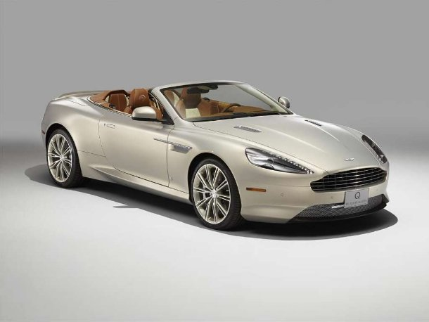 Aston Martin DB9 Volante by Q