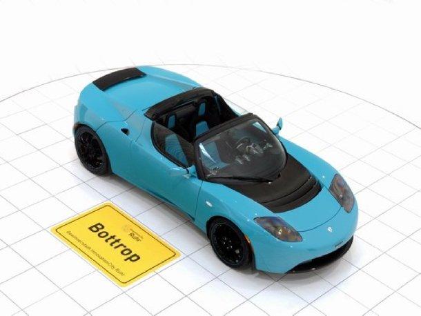Brabus Tesla Roadster Sport Green Package