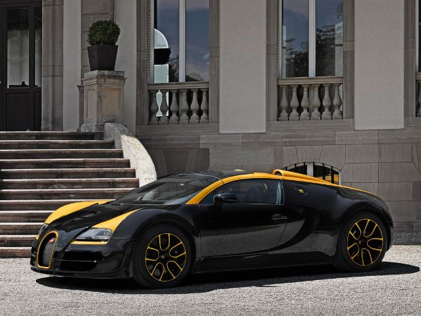 Bugatti Veyron Grand Sport Vitesse One of One