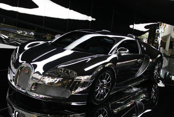 Bugatti Veyron Mirror-Finish