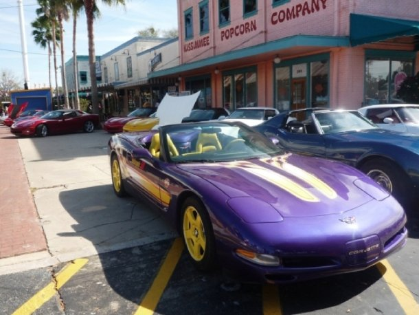 Corvette-Treffen in Kissimmee