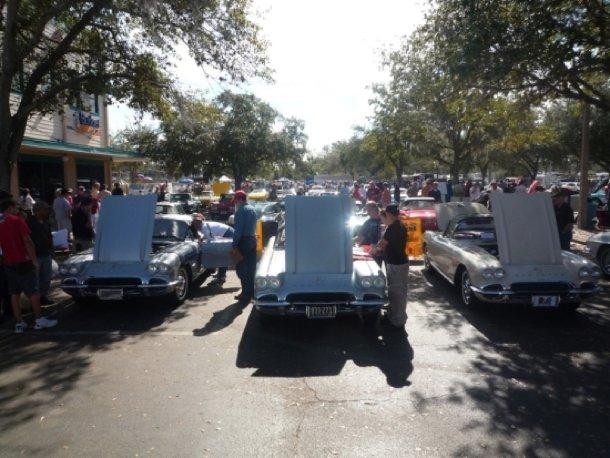 Corvette-Treffen in Kissimmee