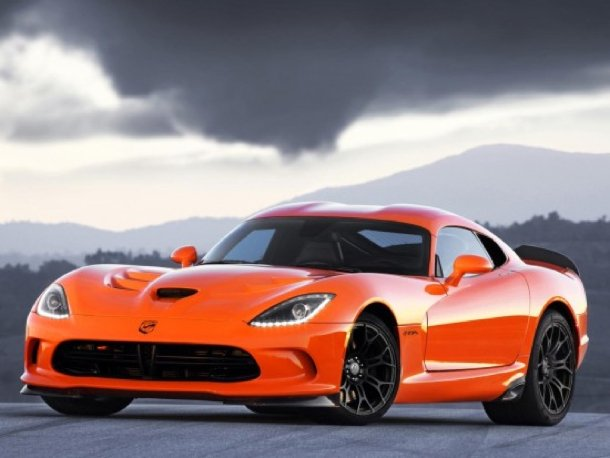 Dodge SRT Viper Time Attack