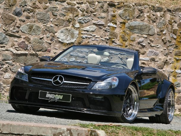 Inden-Design SL 63 AMG Black Saphir