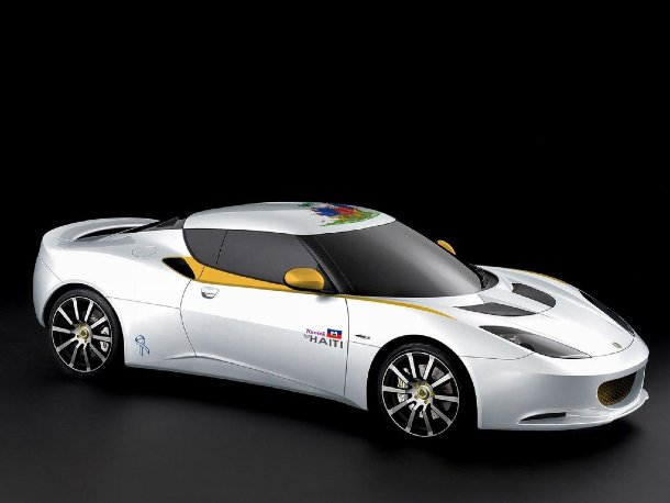 Lotus Evora Naomi for Haiti