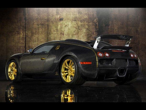Mansory Bugatti 16.4 Linea Vincerò d'Oro