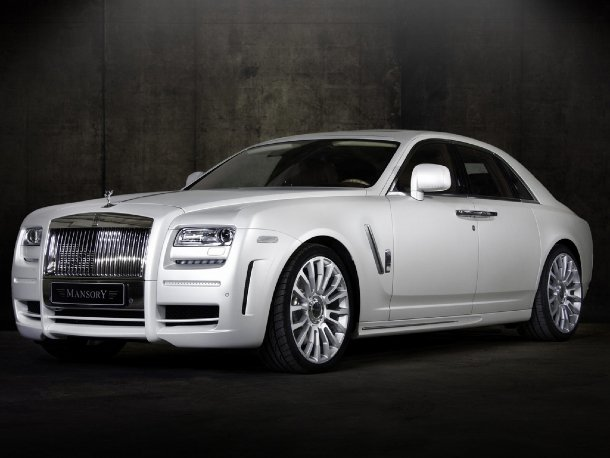 Mansory White Ghost Edition