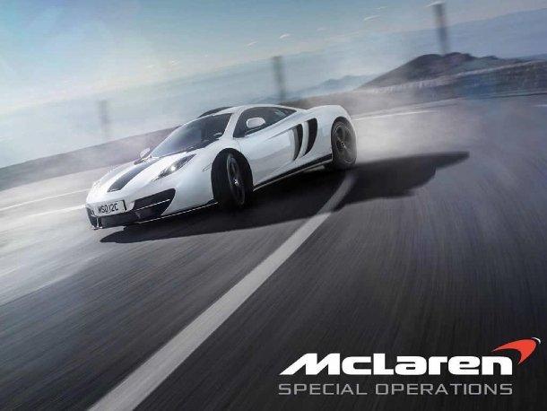 McLaren MSO 12C Concept