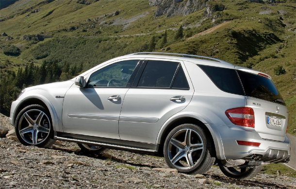 Mercedes AMG ML63 10th Anniversary