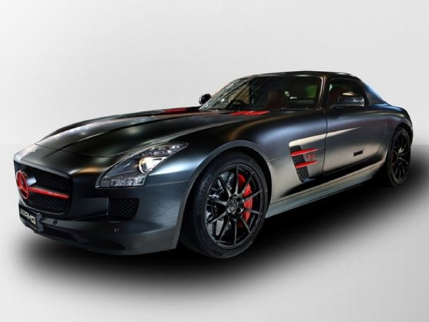 Mercedes-Benz SLS AMG Matt Black Edition