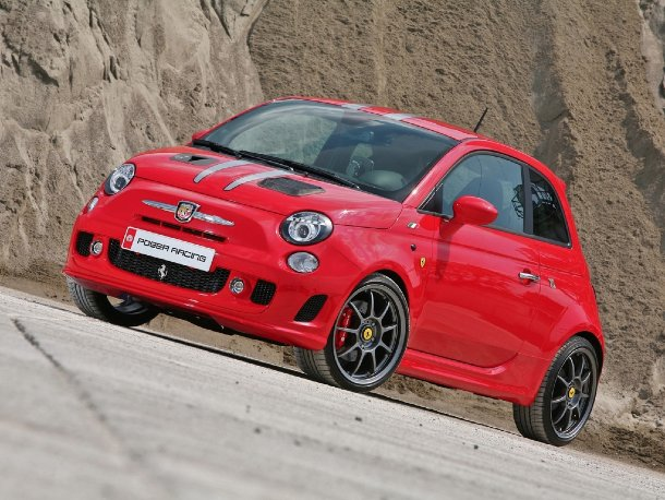 Pogea Abarth 500 Ferrari Edition