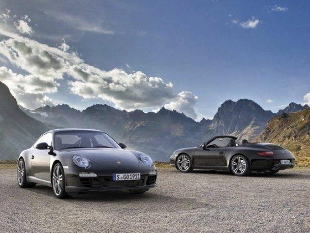 Porsche 997 Black Edition