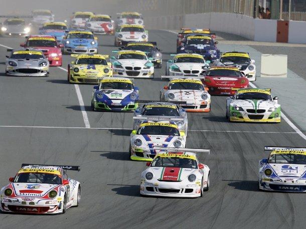 Porsche bei 24h von Dubai