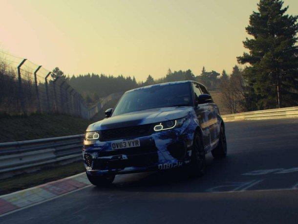 Range Rover Sport SVR Prototyp
