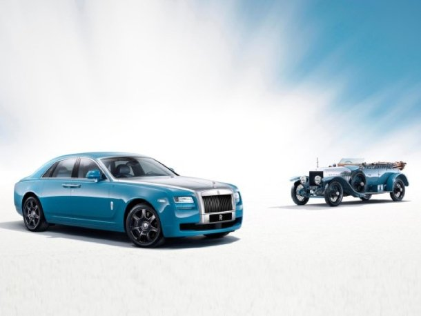 Rolls-Royce Ghost Alpine Trial Centenary