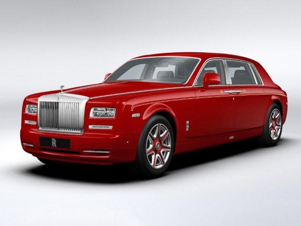 Rolls-Royce Phantom EWB Louis XIII