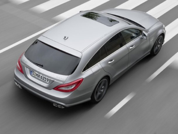 Platz 10: Mercedes-Benz CLS 63 AMG Shooting Brake
